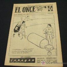 Coleccionismo deportivo: EL ONCE - 28 ABRIL 1.964 - NUMERO 970 - AÑO XX - . Lote 17914758