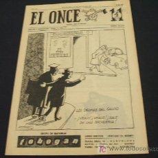 Coleccionismo deportivo: EL ONCE - 17 MARZO 1.964 - NUMERO 964 - AÑO XX - . Lote 17914836