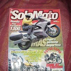 Coleccionismo deportivo: SOLOMOTO Nº 232. JUNIO 202. HONDA PAN EUROPEAN 1300, BMW RT CUSTOM ... *. Lote 18010963
