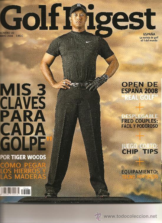 121. GOLF DIGEST Nº 122 (MAYO 2008) (Coleccionismo Deportivo - Revistas y Periódicos - otros Deportes)