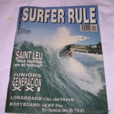 Coleccionismo deportivo: SURFER RULE - NÚMERO 33 - SEPTIEMBRE - OCTUBRE - 1995 - GENERAL - TEMA SURF. Lote 165639802