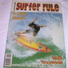 Coleccionismo deportivo: SURFER RULE - NÚMERO 45 - SEPTIEMBRE - OCTUBRE - 1997 - SEMINUEVA - TEMA SURF. Lote 137865253