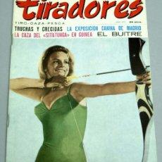 Coleccionismo deportivo: TIRADORES REVISTA TIRO CAZA PESCA JULIO 1971 . Lote 20482102