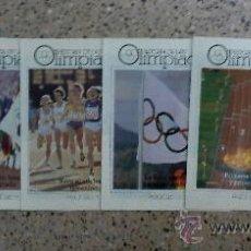 Coleccionismo deportivo: HISTORIA DE LAS OLIMPIADAS - 17 FASCICULOS.. Lote 26238015