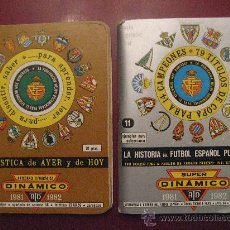 Coleccionismo deportivo: CALENDARIO TORNEO NACIONAL DE LIGA TEMPORADA 1981-1982.DINAMICO Y SUPER DINAMICO.. Lote 21805955