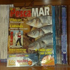 Coleccionismo deportivo: COLECCION DE REVISTAS DE PESCA EN EL MAR ¡ PESCAMAR ¡ COMPLETA ¡ 92 NUMEROS Y 5 DVD ¡ PERFECTA ¡. Lote 26518008