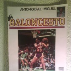 Coleccionismo deportivo: FASCICULO N1 Y N2 DE MI BALONCESTO POR ANTONIO DIAZ MIGUEL.(GASTOS ). Lote 26518709