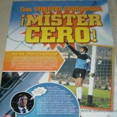 Coleccionismo deportivo: ARCONADA EL 1 UNO : 1 TROFEO ARCONADA MISTER CERO - REAL SOCIEDAD- ESPAÑA -. Lote 27181699