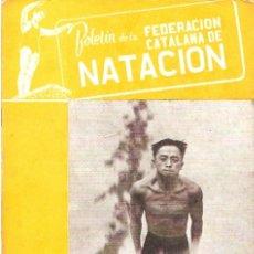 Coleccionismo deportivo: BOLETIN FEDERACION CATALANA NATACION Nº 64 1949. Lote 24763743