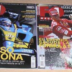 Coleccionismo deportivo: REVISTA FI RACING 2003. FERNANDO ALONSO.. Lote 25438738