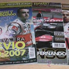 Coleccionismo deportivo: REVISTA FI RACING 2007. FERNANDO ALONSO.. Lote 25439146