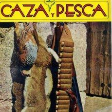 Coleccionismo deportivo: REVISTA CAZA Y PESCA Nº374 (1974). Lote 26251613