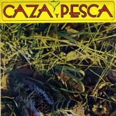 Coleccionismo deportivo: REVISTA CAZA Y PESCA Nº376 (1974). Lote 75737083