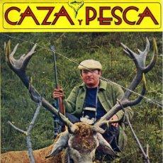 Coleccionismo deportivo: REVISTA CAZA Y PESCA Nº373 (1974). Lote 26251650