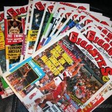 Coleccionismo deportivo: SUPER LOTE REVISTAS GIGANTES DEL BASKET 1986 REVISTA Nº 22 , 26 , 28 .. EN TOTAL 17 NUMEROS !. Lote 26644576