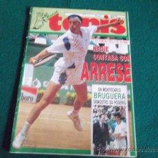Coleccionismo deportivo: MADRID TENIS-Nº36-MAYO 1991-70 PAGINAS-ARRESE-BRUGUERA-EMILIO S.VICARIO-XX VILLA DE MADRID-CONCHITA.. Lote 27820600