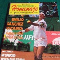 Coleccionismo deportivo: HOMENAJE-Nº41-JUNIO 1993-EMILIO SANCHEZ VICARIO. Lote 27834420