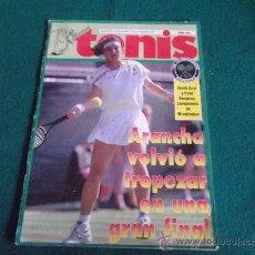 Coleccionismo deportivo: MADRID TENIS-Nº78-AGOSTO1995-36PAGINAS-ARANCHA-SAMPRAS-FELICIANO LOPEZ-GALA LEON-MONTOLIO-RASCON.. Lote 27834464