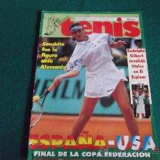 Coleccionismo deportivo: MADRID TENIS-Nº79-SEPTIEMBRE1995-ESPAÑA-USA-COPA FEDERACION-36PAGINAS-FELICIANO-GALA LEON.. Lote 27834478