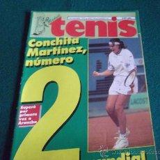 Coleccionismo deportivo: MADRID TENIS-Nº81-NOV1995-36PAG-MARTA MARRERO-ELENA SALVADOR-SENDIN-MUSTER-BRUGUERA-BURILLO-MOYA.. Lote 27834505