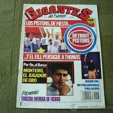 Coleccionismo deportivo: GIGANTES DEL BASKET Nº 243 (2 JULIO 1990) MONTERO. Lote 27931986