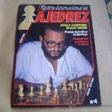 Coleccionismo deportivo: REVISTA INTERNACIONAL DE AJEDREZ.. Lote 28245004