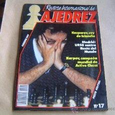 Coleccionismo deportivo: REVISTA INTERNACIONAL DE AJEDREZ.. Lote 28245056
