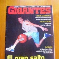 Coleccionismo deportivo: REVISTA GIGANTES DEL BASKET Nº 1013. ABRIL 2005. SERGIO RODRÍGUEZ. COMO NUEVA. Lote 28621183