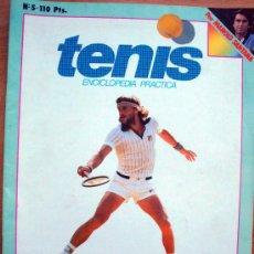 Coleccionismo deportivo: REVISTA NUEVA LENTE, ENCICLOPEDIA DEL TENIS POR MANOLO SANTANA NºS 4 Y 5, 1982. Lote 28861965