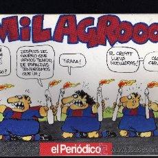 Coleccionismo deportivo: MILAGRO - LLIGA 92-93 - OSCAR NEBREDA - EL PERIODICO - 1993. Lote 28910100