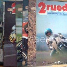 Coleccionismo deportivo: LOTE DE REVISTAS DE MOTOCICLISMO 12 NÚMEROS DE 2 RUEDAS 1979 DEL 1 AL 12 INCLUSIVE. Lote 29231481