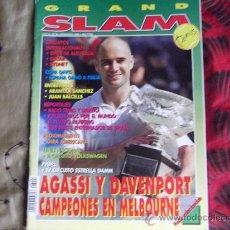 Coleccionismo deportivo: GRAND SLAM-TENIS-Nº91-FEB-2000-AGASSI- DAVENPORT-MAURESMO-HEWITT-SANTORO-ARANTXA-JOAN BALCELLS-. Lote 29249136