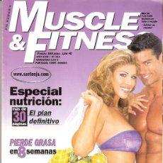 Coleccionismo deportivo: MUSCLE & FITNESS. RAFAEL SANTONJA. CULTURISMO. NUTRICIÓN. PIERDE GRASA. BICEPS Y TRICEPS. Nº 212.. Lote 29334540