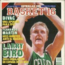 Coleccionismo deportivo: BALONCESTO, REVISTA BASKET 16, Nº 30 DE 1988. Lote 29835489