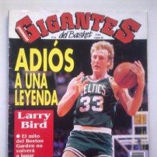 Coleccionismo deportivo: GIGANTES DEL BASKET Nº 356 - 31 AGOSTO 1992 - ESPECIAL LARRY BIRD SE RETIRA -FALTAN 2 HOJAS CENTRALE. Lote 29886325