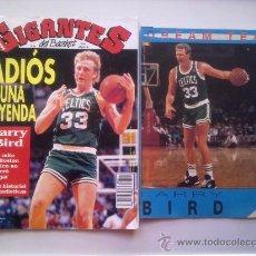 Coleccionismo deportivo: LOTE ESPECIAL LARRY BIRD - GIGANTES DEL BASKET Nº 356 + COLECCIONABLE SUPERBASKET DREAM TEAM'92. Lote 29886622