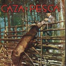 Coleccionismo deportivo: REVISTA CAZA Y PESCA Nº 158 - MADRID. FEBRERO 1956. Lote 29990015