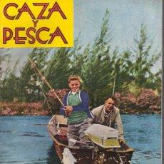 Coleccionismo deportivo: REVISTA CAZA Y PESCA MADRID ABRIL 1963 Nº 244. Lote 30275645