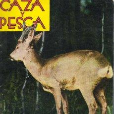 Coleccionismo deportivo: REVISTA CAZA Y PESCA MADRID FEBRERO 1965 Nº 266. Lote 30275834
