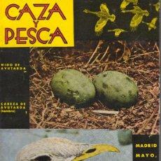 Coleccionismo deportivo: REVISTA CAZA Y PESCA MADRID MAYO 1965 Nº 269. Lote 30275848
