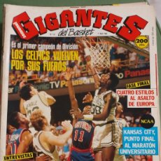 Coleccionismo deportivo: REVISTA BALONCESTO GIGANTES BASKET 127 ABRIL 1988 BOSTON CELTICS CAMPEON DIVISION FINAL FOUR NCAA. Lote 30326220