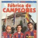 Coleccionismo deportivo: LA MASIA LA GRAN CANTERA DEL BARSA // FABRICA DE CAMPEONES / GUARDIOLA // 129 PAGINAS CON FOTOS. Lote 30805319