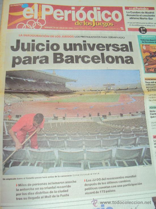 Coleccionismo deportivo: Barcelona 92 : El Periodico de Los Juegos - - Foto 2 - 31345667
