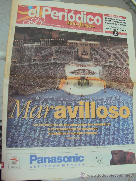 Coleccionismo deportivo: Barcelona 92 : El Periodico de Los Juegos - - Foto 3 - 31345667