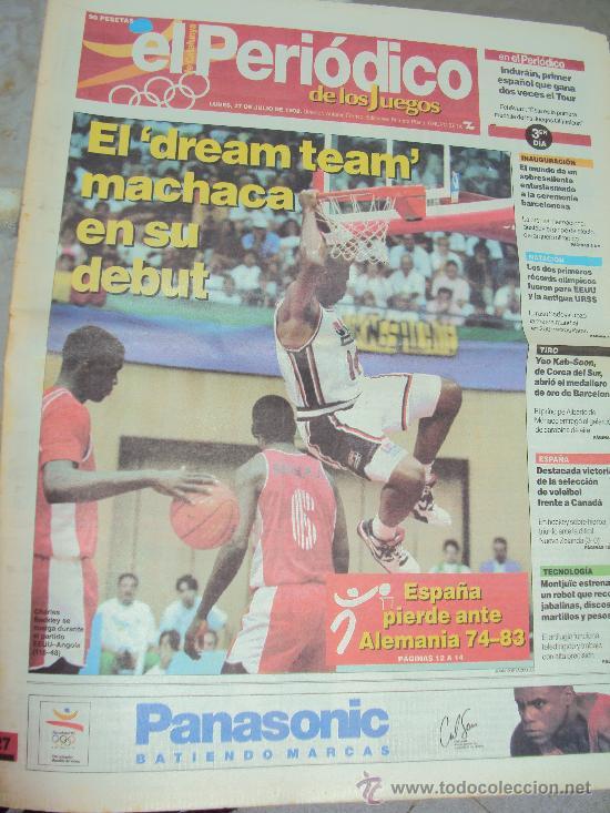 Coleccionismo deportivo: Barcelona 92 : El Periodico de Los Juegos - - Foto 4 - 31345667