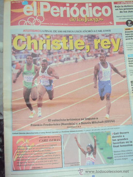 Coleccionismo deportivo: Barcelona 92 : El Periodico de Los Juegos - - Foto 5 - 31345667
