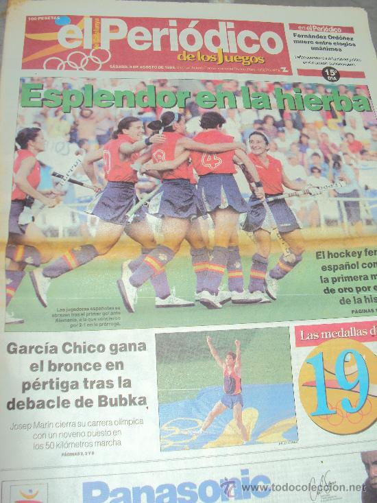 Coleccionismo deportivo: Barcelona 92 : El Periodico de Los Juegos - - Foto 7 - 31345667