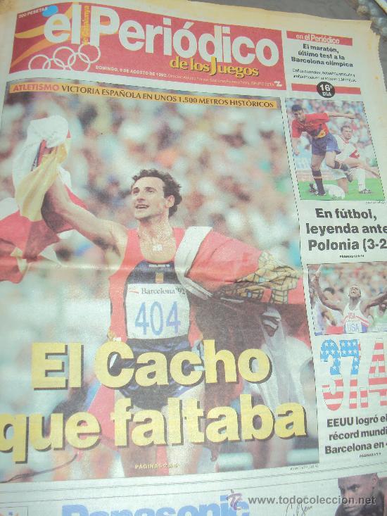 Coleccionismo deportivo: Barcelona 92 : El Periodico de Los Juegos - - Foto 8 - 31345667