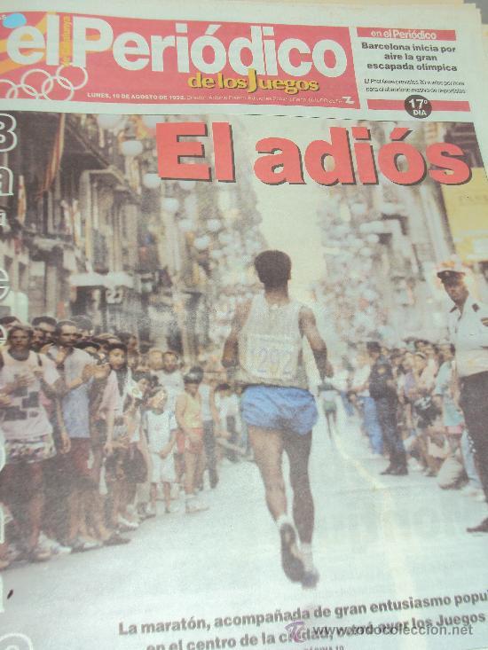 Coleccionismo deportivo: Barcelona 92 : El Periodico de Los Juegos - - Foto 11 - 31345667