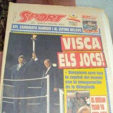 Coleccionismo deportivo: BARCELONA 92.SPORT AMB ELS MILLORS JOCS.. Lote 98743383